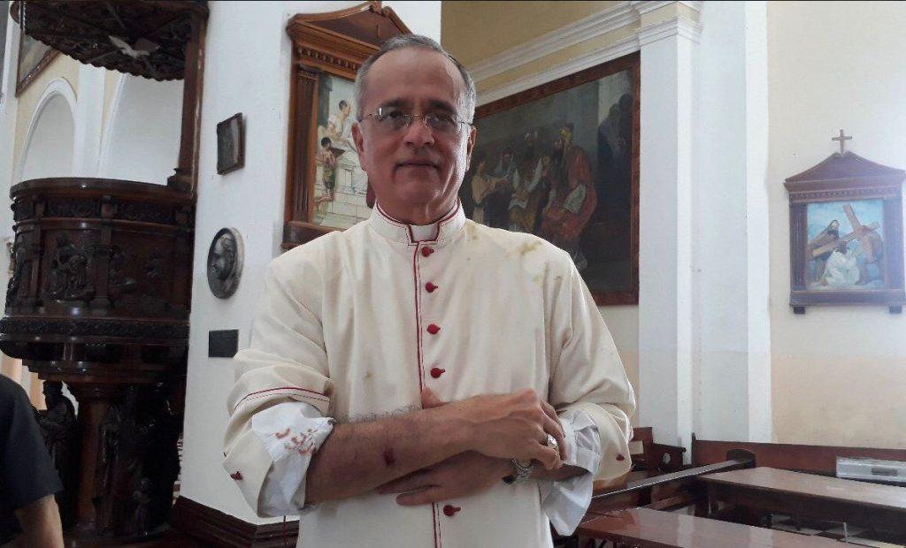 Monseñor Silvio Báez urge a la UE a no caer en la indiferencia y aboga por sanciones que no perjudiquen al pueblo. Foto: La Prensa