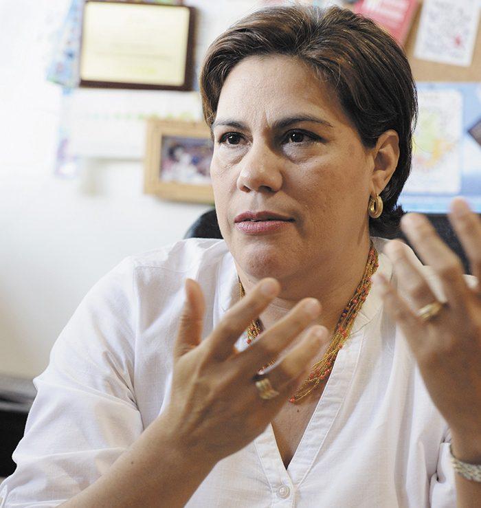 Elvira Cuadra, Sociologa y experta en temas de seguridad. Foto Uriel Molina. LA PRENSA