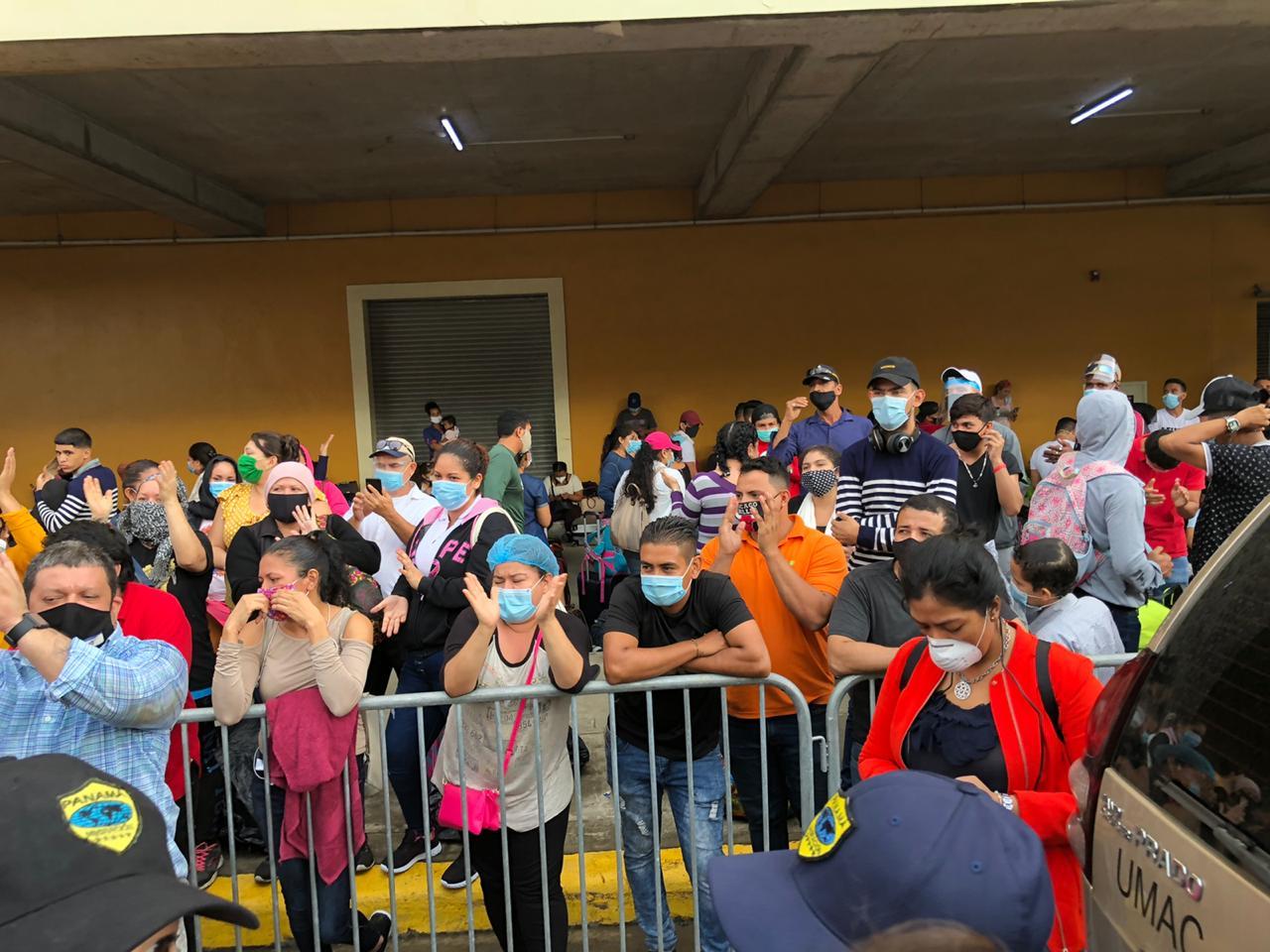 Más de 1,100 nicaragüenses procedentes de Panamá retornarán al país. Foto: Cortesía