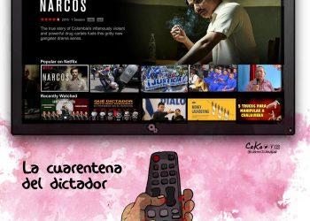 La Caricatura: El gobierno virtual del dictador