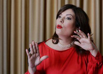 María Fernanda Flores arremete contra los integrantes de la Coalición y los acusa de ser parte de «crímenes y corrupción de los 80». Foto: Tomada de Internet