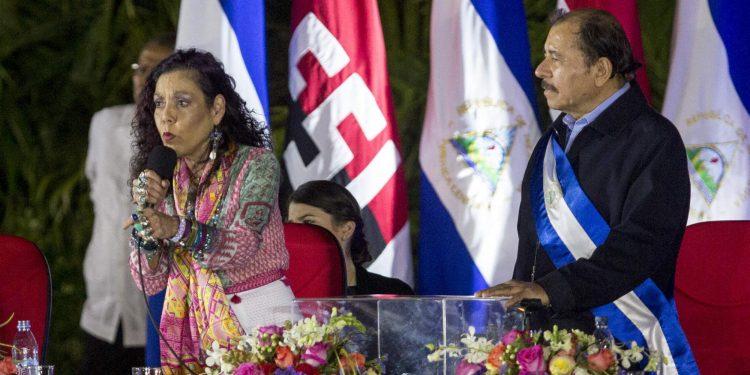 Rosario Murillo anuncia una «semana llena de eventos», entre ella la elección de «la compa y el compa revolución». Foto: Cortesía