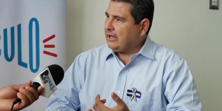 Juan Sebastián Chamorro: «CxL es la casilla apropiada» para ir a elecciones. Foto: Geovanny Shiffman/Artículo 66