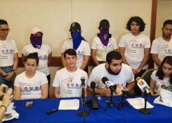 Sector estudiantil de la UNAB demanda a la Coalición que el 50% de esa estructura la conformen jóvenes. Foto: Cortesía