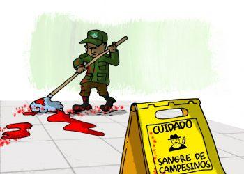 La Caricatura: La sangre de nuestros hermanos