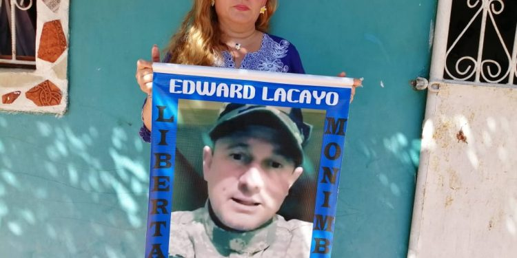 Familiares del preso político de Masaya Edward Lacayo denuncian que las autoridades les niegan el derecho a la visita. Foto: Noel Miranda/Artículo 66