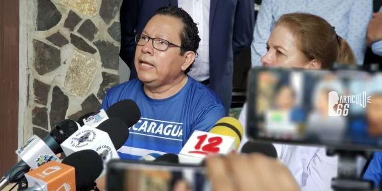 Miguel Mora se estrena como político dentro de la Coalición Nacional. Foto: G. Shiffman / Artículo 66