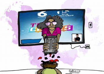 La Caricatura: Las clases en línea