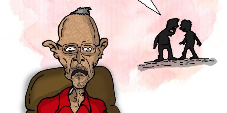 La Caricatura: El muñeco parlanchín