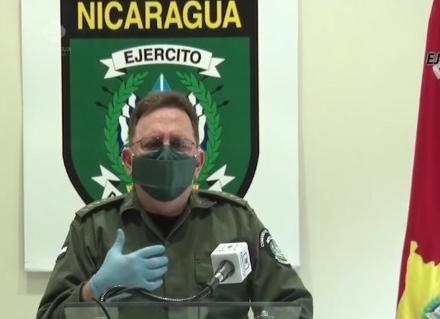 Jefe del Ejército de Nicaragua reconoce el grave impacto del COVID-19 en el país