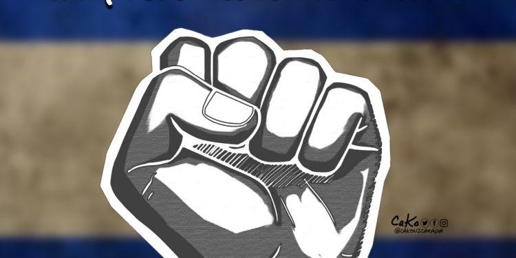 La Caricatura: ¡Viva Nicaragua libre!