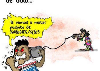 La Caricatura: Mensajes de odio