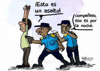 La Caricatura: Inseguridad nacional