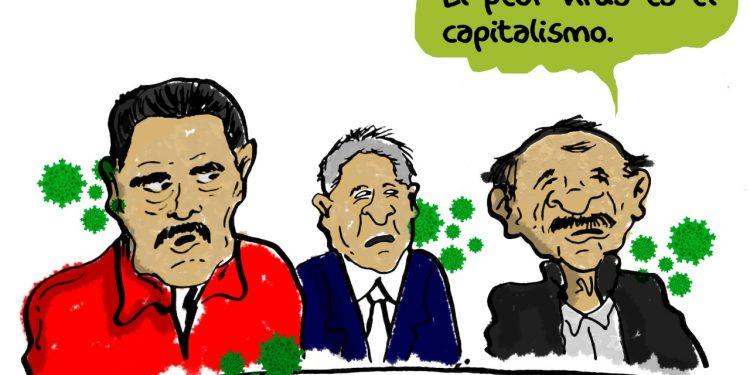 La Caricatura: Infectados