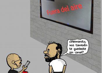 """La Caricatura: Los """"Sin Canal"""""""
