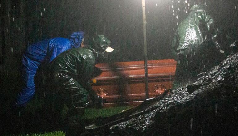 Managua continúa siendo el foco de contagio del COVID-19: 3,287 casos positivos y 838 muertes. Foto: AFP