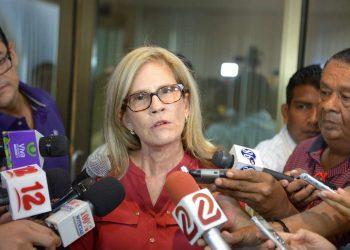 Kitty Monterrey, implacable contra los demás opositores y descarta sumarse a la Coalición Nacional. Foto: La Prensa.