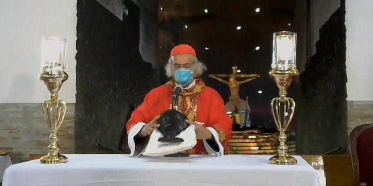 Cardenal Brenes asegura que el «demonio anda suelto» tras ataque terrorista en la Catedral de Managua