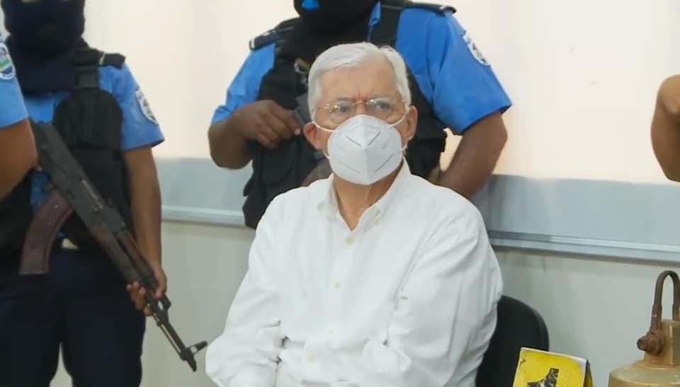 Policía Nacional detiene a ex canciller Francisco Aguirre Sacasa