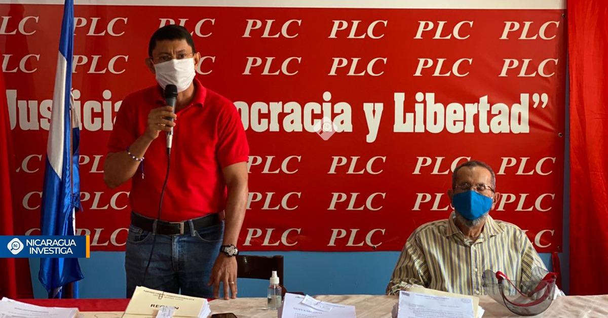 Miguel Rosales niega ser ficha de Arnoldo Alemán en el PLC aunque tampoco lo critica. Foto: Nicaragua Investiga