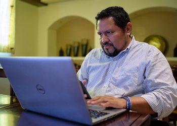 Acusan por «injurias y calumnias» al periodista David Quintana, de Boletín Ecológico. Foto: Carlos Herrera