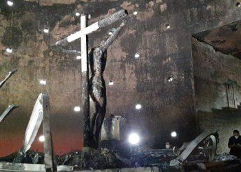 Inician colecta para reconstruir la capilla de la Sangre de Cristo en Catedral de Managua