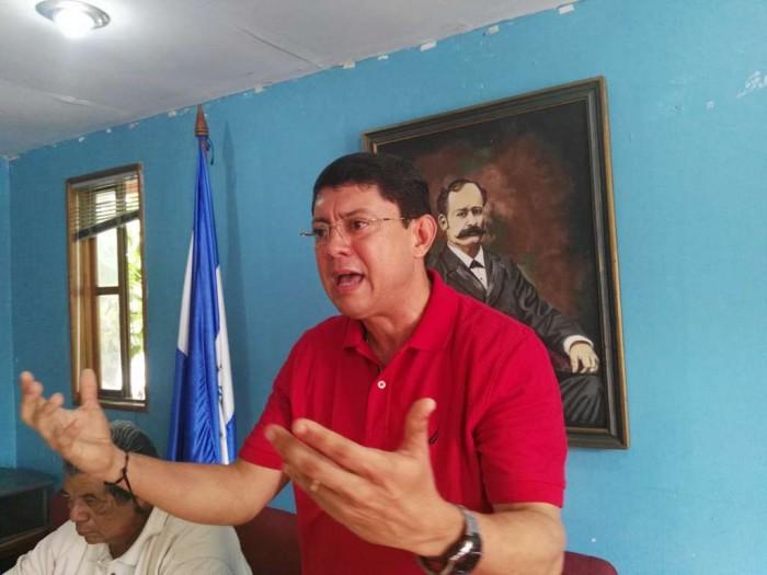 Miguel Rosales. presidente designado por el PLC. Foto: Cortesía