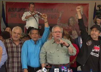 Pugnas en el FSLN por ser «los ungidos» de Daniel Ortega. Foto: La Prensa.