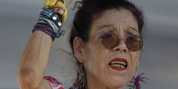 Rosario Murillo llama «rostros amargos y ácidos» a la oposición y exigen «respeto» a la comunidad internacional