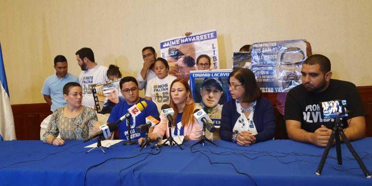 Unidad Azul y Blanco de Masaya salió de la UNAB, pero asefura seguir comprometida por la libertad de Nicaragua. Foto: Artículo 66