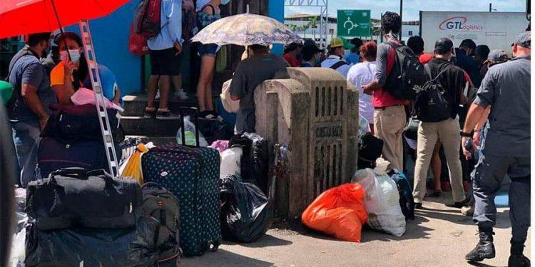 148 nicaragüenses inician retorno al país tras dar negativo a la prueba de COVID-19. Foto: Nicaragua Actual
