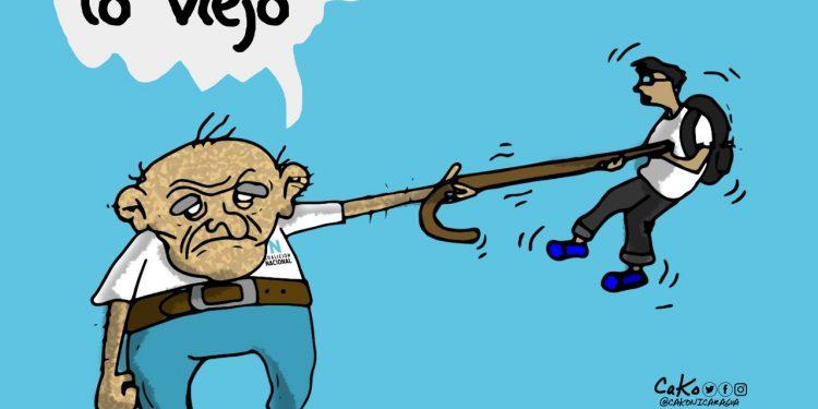 La Caricatura: Se acabó lo viejo decían