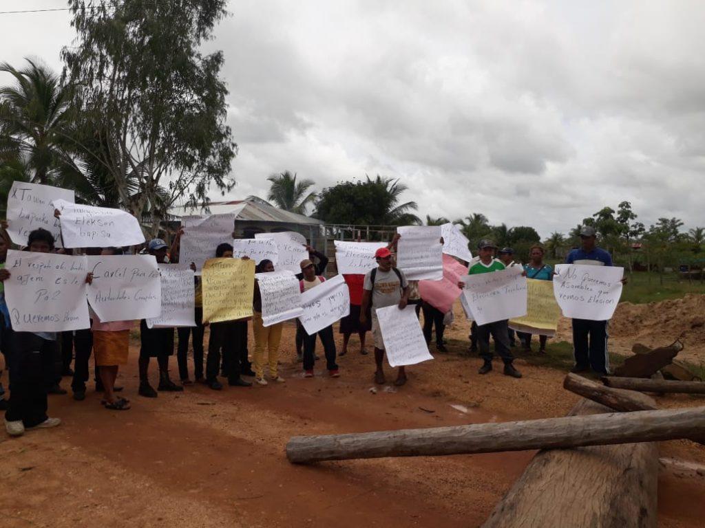 Comunitarios del territorio Twi Yahbra demandan elección de las autoridades regionales