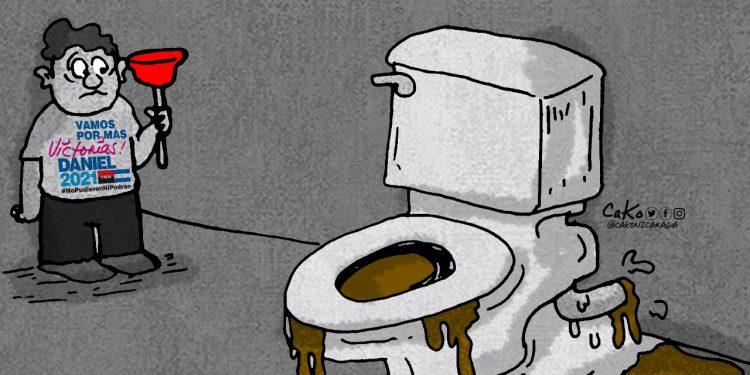 La Caricatura: Alguien tendrá que limpiar el desastre