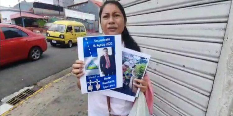 Exiliados en Costa Rica exigen la libertad de dos jóvenes de Masaya que fueron detenidos por el ejército de Nicaragua