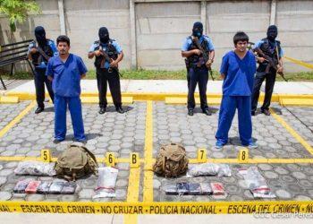 Después de nueve días, la Policía presentó en El Chipote a los jóvenes que fueron capturados por el Ejército en la frontera