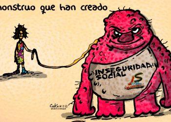 La Caricatura: El monstruo que azota las calles
