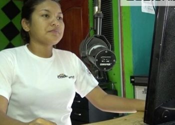 """Periodistas denuncian plan del régimen de Ortega para """"apropiarse"""" de Radio La Costeñísima. Foto: Fundación Violeta Chamorro."""