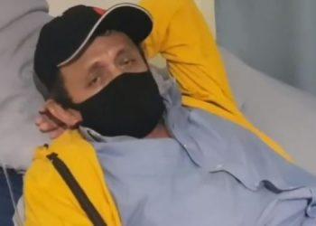 Periodista José Abraham Sánchez se recupera de una pancreatitis y podría ser dado de alta médica. Foto: Cortesía
