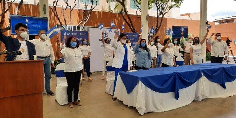 Alianza Cívica presenta su propia agenda de país con que propone transformar el Estado tras la dictadura. Foto: Artículo 66
