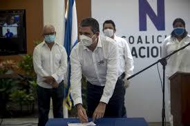 Líderes de base presionan a la Alianza Cívica para quedarse en la Coalición Nacional. Foto: Cortesía.