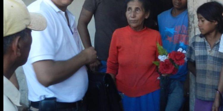 Murió Irinea Mejía, a la que en el 2011 el régimen le asesinó a su esposo y a dos de sus hijos. Fotos: Cenidh
