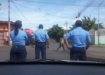 Policía de Ortega retuvo y amenazó a dos miembros del Movimiento feminista La Corriente. Foto ilustrativa / La Prensa