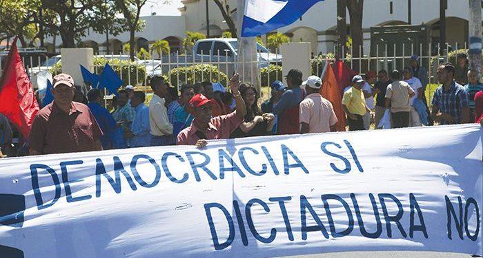 Coalición Nacional: «Ley de Regulación a Agentes Extranjeros es fascista». Foto: Tomada de internet..
