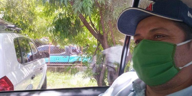 Medardo Mairena burló cerco policial pero le costó agresión y amenazas. Foto: Artículo 66 / Cortesía
