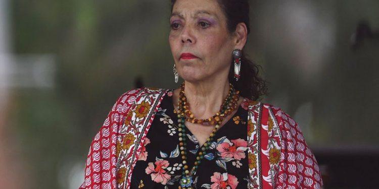 Vicedictadora Rosario Murillo arremete contra feministas y las acusa de hacer negocios con el aborto. Foto tomada de internet.