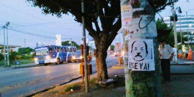 Operación «Preso 198» inunda el país con propaganda contra la dictadura y dicen: «Se va»