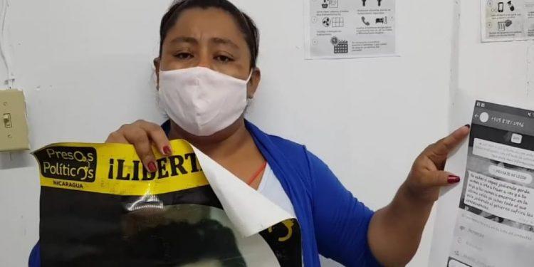 Amenazan con secuestrar a la esposa del preso político de Masaya José Santos Sánchez. Foto: Boletín Ecológico