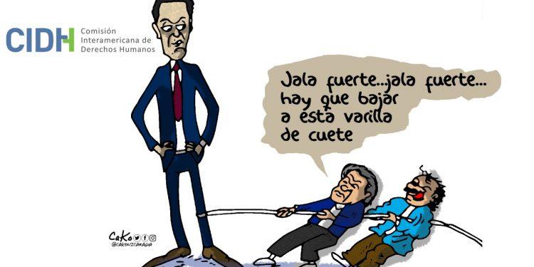 La Caricatura: El miedo a Paulo Abrão