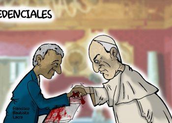 La Caricatura: Las credenciales del nuevo embajador